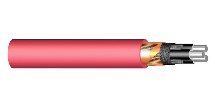 Image of PEX-M-AL 3-core medium voltage cable