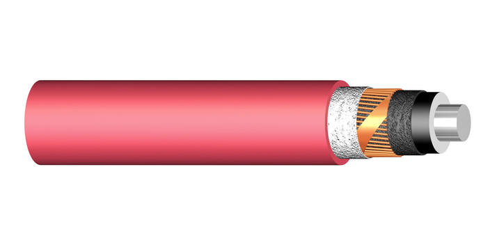 Image of 1-core PEX-M-AL-LT 72 kV cable