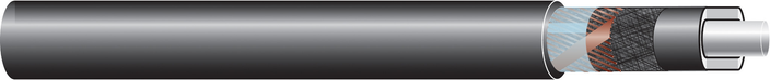 Image of 33 kV single core cable XLPE-AL-RE-CS-ST, CU screen cable