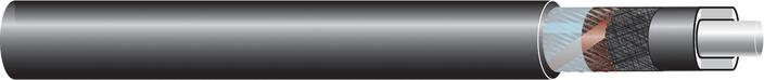 Image of 33kV single core cable XLPE-AL-RMT-FB-LRT, CU screen cable