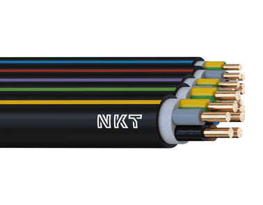 Image of NKT instal PLUS CYKY 450/750 V cable